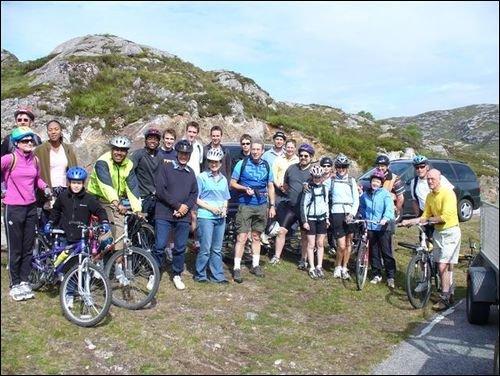 NNT news: Cross-Scotland cycle